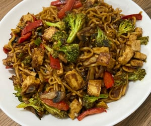 chinese, food, and noodles image