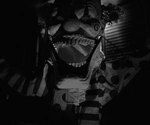 clown, Halloween, and scary image