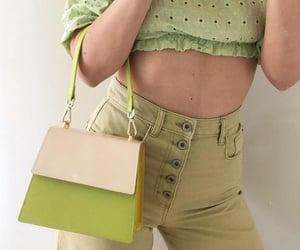 bag, pose, and body image