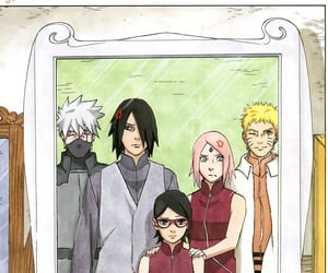 akatsuki, kakashi, and sasuke uchiha image
