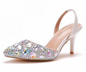 charming, stiletto heels, and pointed toe image