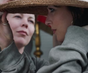 film, maggie gyllenhaal, and olivia colman image
