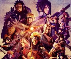 akatsuki, sasuke uchiha, and sasusaku image