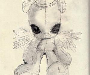 ángel, art, and bear image