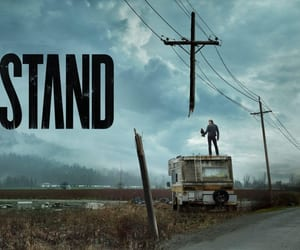 Logo, Stephen King, and title image