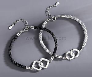 anniversary, personalized bracelets, and matching jewelry image