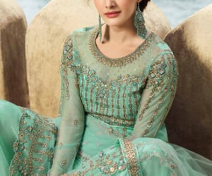 salwar kameez, patiala suit, and palazzo suit image