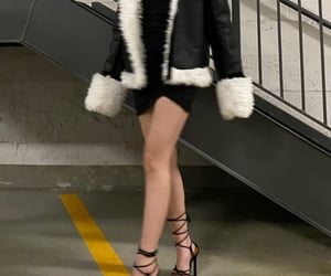asos, winter, and dress image