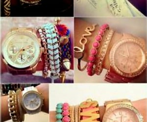 jewelry, watches, and michealkors image