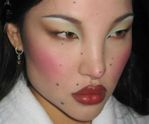 cute face, makeup pretty, and luxury expensive image