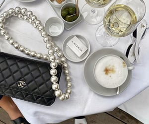 cafe, fashion, and wine image