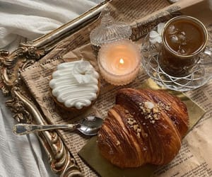 candles, luxury lifestyle, and tea coffee image