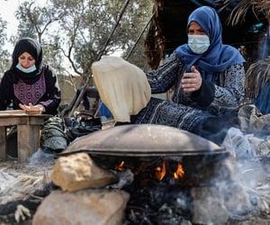 Gaza, israel, and palestinians image