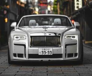 car, fashion, and rollsroyce image