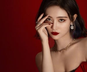 accessories, beautiful girl, and earrings image