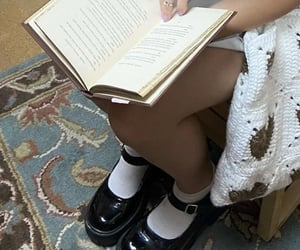 books, bookworm, and pages image