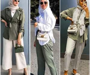 olive blouse, olive chemise, and olive tunic image