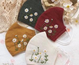 embroidered face masks and etsy handmade masks image