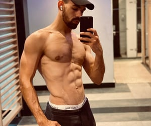 abs, exercise, and man image