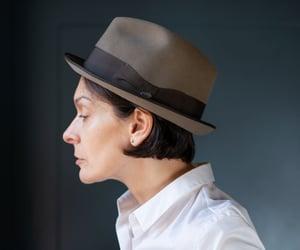 etsy, unisex fedora, and german made hat image
