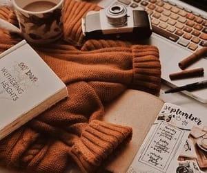 autumn, orange, and sweet image