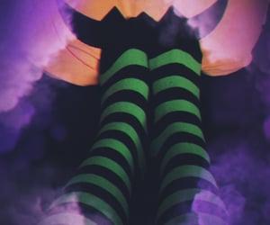 green, Halloween, and jack o lantern image