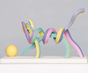arte, gato, and sculpture image