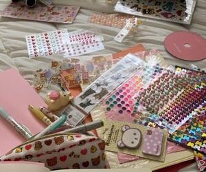 bedroom, glitter, and kawaii image
