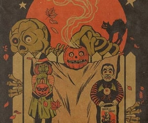 autumn, trick or treat, and Halloween image