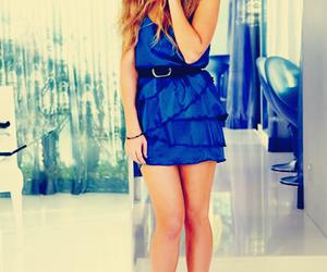 lauren conrad, dress, and blue image