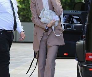 clothes, beige outfit, and fashion image