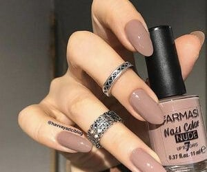 argent, brown, and nails image