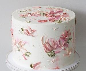 Blanc, cake, and rose image