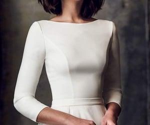 Blanc, fashion, and dress image