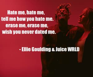 breakup, Ellie Goulding, and song quotes image