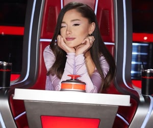 ariana grande and the voice image