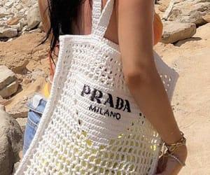prada bag and luxury lifestyle image