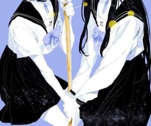 anime, gemini, and art image