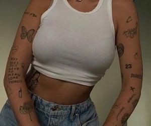 animal, girl, and tattoo image