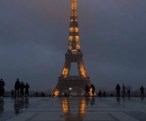autumn, eiffel tower, and flashlights image