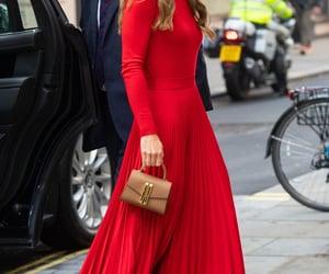 princess, red, and kate middleton image