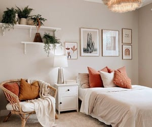 beige, room, and Blanc image