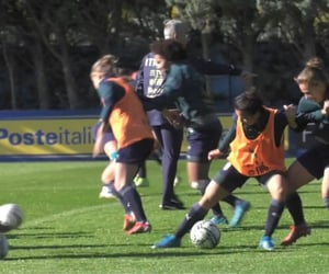 soccer, training, and video image