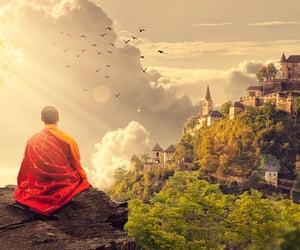 meditation, motivation, and morning image