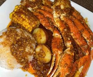 food and seafood boil image