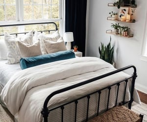 beige, room, and black image