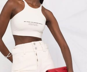 fashion, top, and crop top image