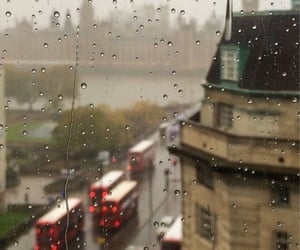 rain and london image