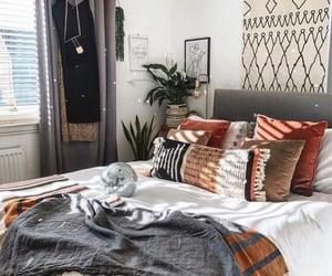 bedroom, bedroom decor, and boho image