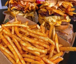 burgers and chips image